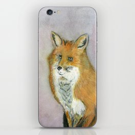Frustrated Fox iPhone Skin