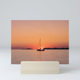 Gorgeous Ocean Sunset Mini Art Print