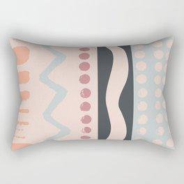Zag Dot Rectangular Pillow