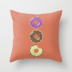 Heaven (Better Known as Multiple Donuts) Throw Pillow