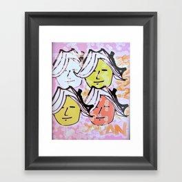 Ladies of Japan Framed Art Print