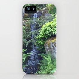 Kubota Garden waterfall iPhone Case