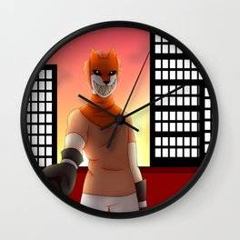 """See ya at sunset"" Wall Clock"