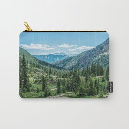 Colorado Wilderness // Why live anywhere else? Amazing Peaceful Scenery with Evergreen Dusted Hills Carry-All Pouch