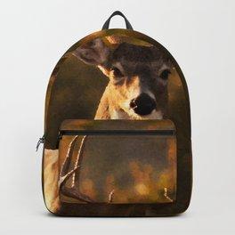 Geometric Deer Backpack