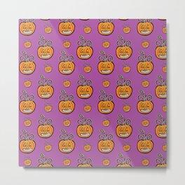 Pumpkin Madness Metal Print