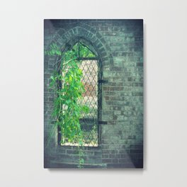 Window of Abandonment  Metal Print