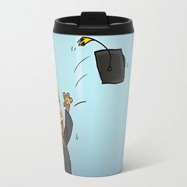 Graduate Cat Travel Mug