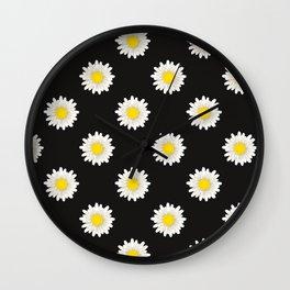 90's Daisies Wall Clock