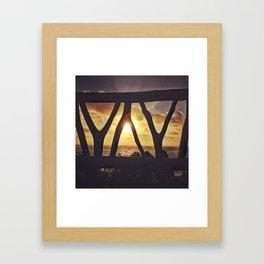 Mexico Sunrise Framed Art Print