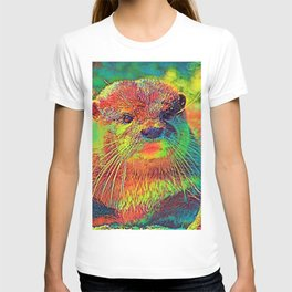 AnimalColor_Otter_005_by_JAMColors T-shirt