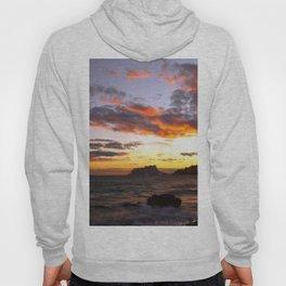 Fine Art Photograph - Spanish Sunset -The dramatic sunset on the West coast of Spain. Hoody