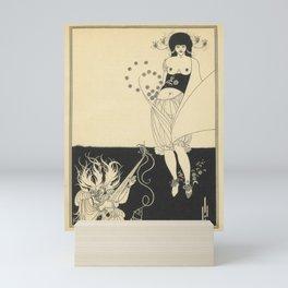 AUBREY BEARDSLEY Salome Oscar Wilde - The Stomach Dance Mini Art Print