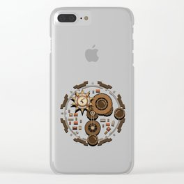 Kings Landing Castle Clear iPhone Case