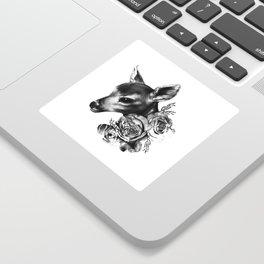 Fawn & Flora II Sticker