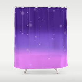 Wish Upon A Falling Star Shower Curtain