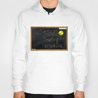bible verses Hoodies featuring Bible School Lesson #1 by serloren