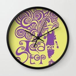 Tea Stop Wall Clock