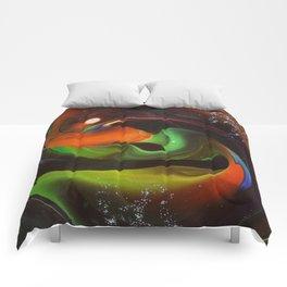 An Alien Orange Comforters