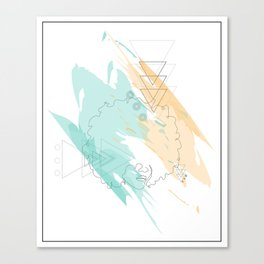 In/Stability Canvas Print