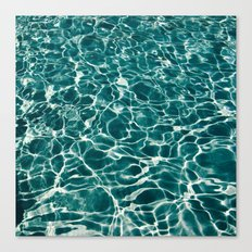 Pool Water Canvas Print