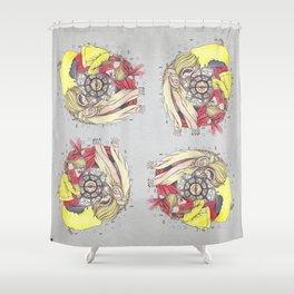 FAITH AND DECEIT  Shower Curtain