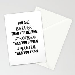 You Are More Than You Think Stationery Cards