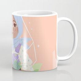 Girl and her Cactus Coffee Mug