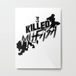 I Killed Mufasa - A SSBM Falcon Design Metal Print