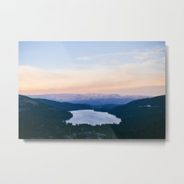 Donner Lake // California Metal Print