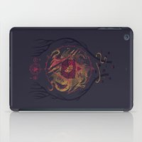 lovecraft iPad Cases featuring The Dunwich Horror by Hector Mansilla
