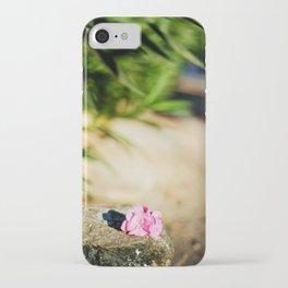 Pink oleander iPhone Case