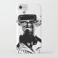 spaceman iPhone & iPod Cases featuring Spaceman by Goga