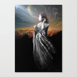 merging with the universe Canvas Print