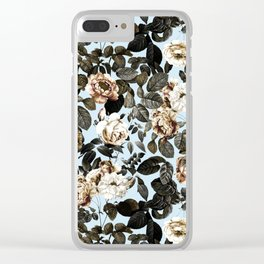Summer Botanical Garden IV Clear iPhone Case