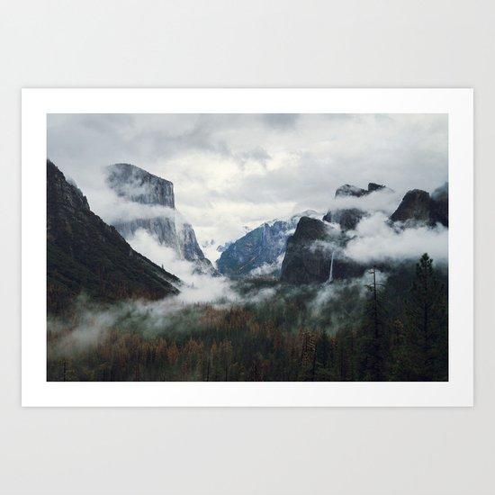Mountain Landscape photography Art Print