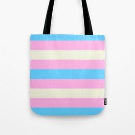 Transgender Pride Flag v2 Tote Bag