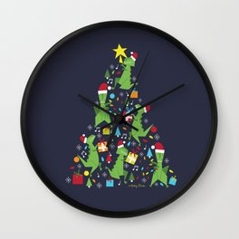 Tree-Rex Wall Clock