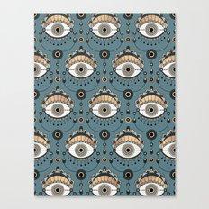 Eye Pattern 1 Canvas Print