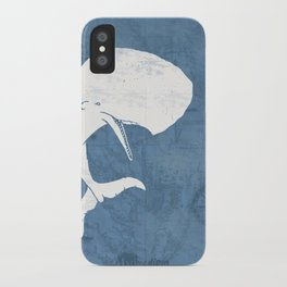 Moby Dick Poster Design iPhone Case