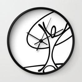 Tongariki Wall Clock
