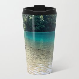 Plitvice beach Travel Mug