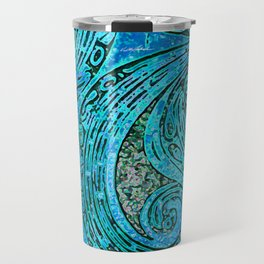 Chanting Blue Loon Travel Mug