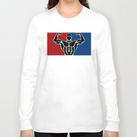 league Long Sleeve T-shirts featuring Major League by Gym Worthy