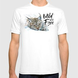 Lynx Wild and Free T-shirt