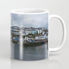 Brixham The Colourful Harbour Coffee Mug