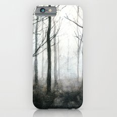 fog among the trees iPhone 6s Slim Case