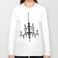 chandelier Long Sleeve T-shirts featuring Chandelier by Justin Kendall