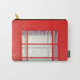 Red telephone booth. Carry-All Pouch