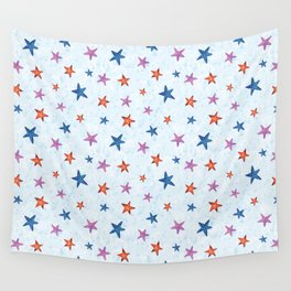 Starfishes Wall Tapestry